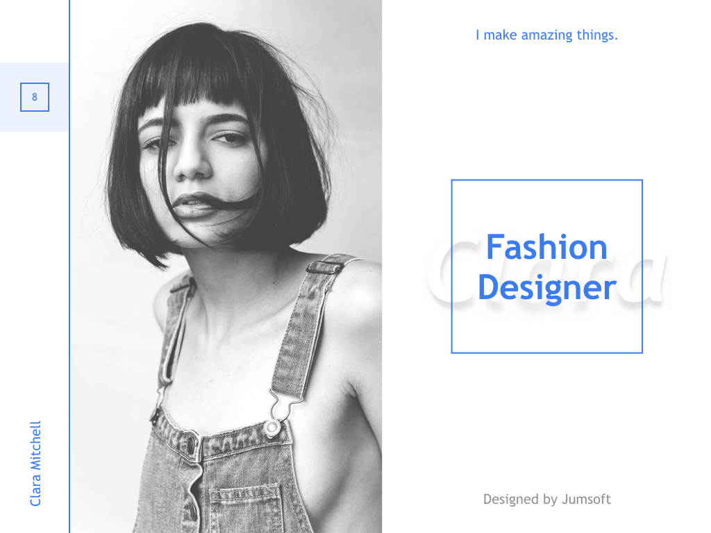 Fashion Designer PowerPoint Template example image 8