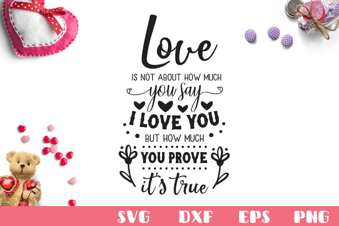 Download Love Quote SVG Cut File