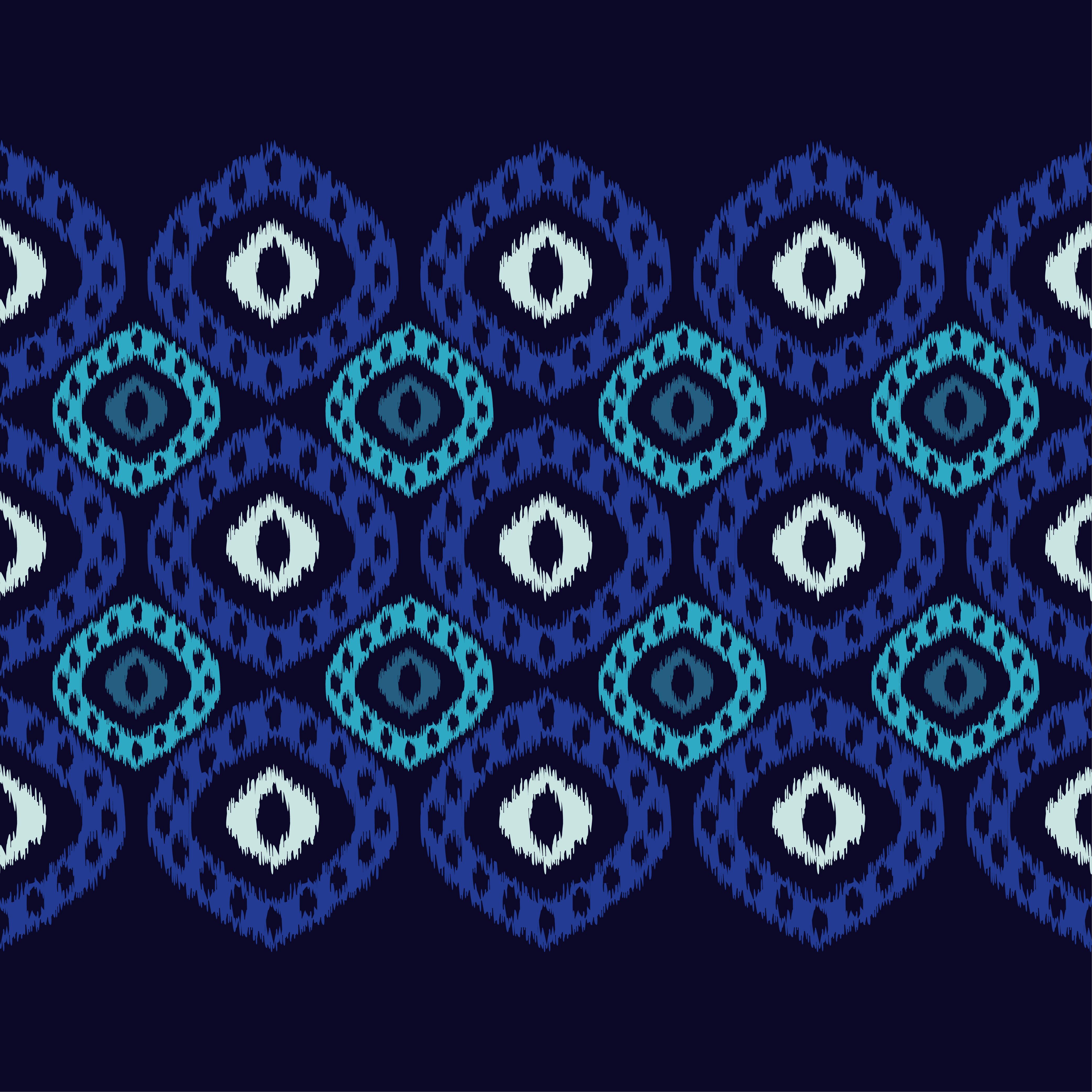 Set of 6 Ethnic boho seamless pattern.  example image 3