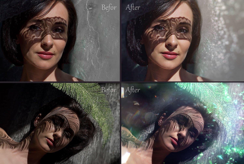 Glitter Effect Photoshop Overlays example image 2