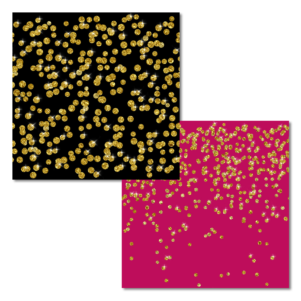 Sparkly Gold Confetti (transparent backgrounds) example image 2