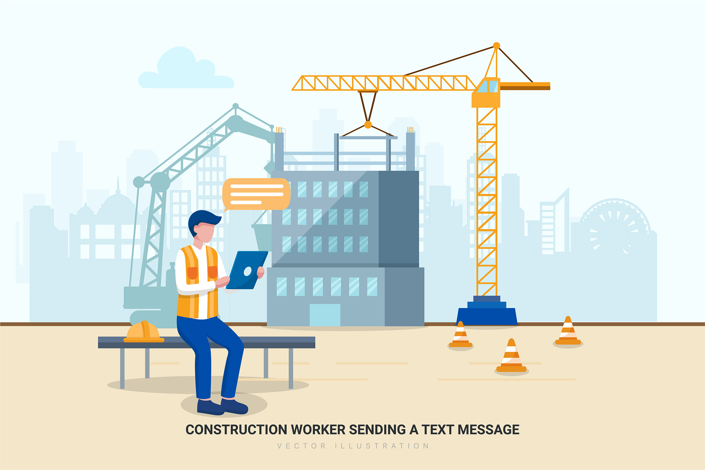 Construction & Real Estate Vector Illustration - Part 30 example image 11