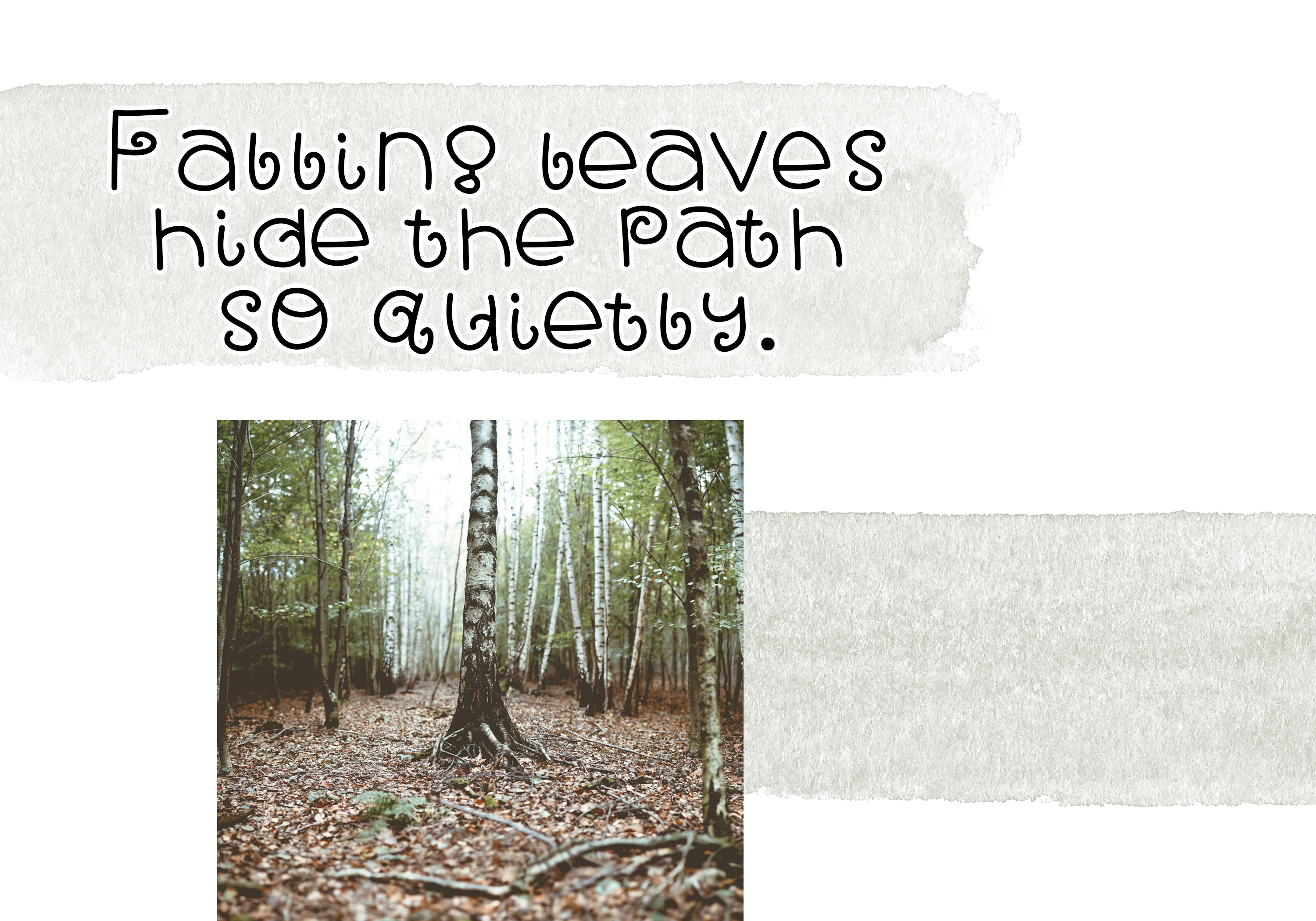 Fall Breeze - A Fun Handwritten Font example image 4