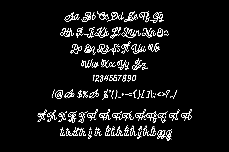 Billgis Font Duo example image 8
