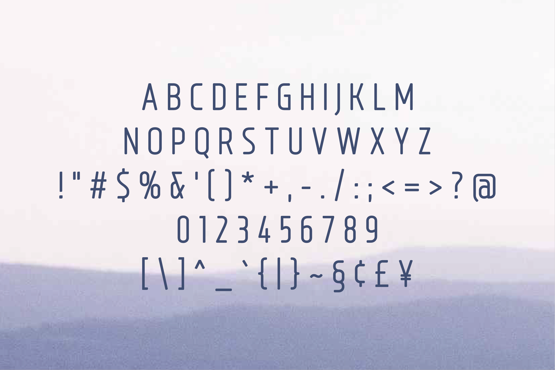 Bouffly Alice Regular Versionl Elegant font sans serif example image 2