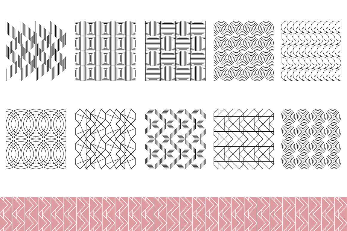 Line patterns example image 5