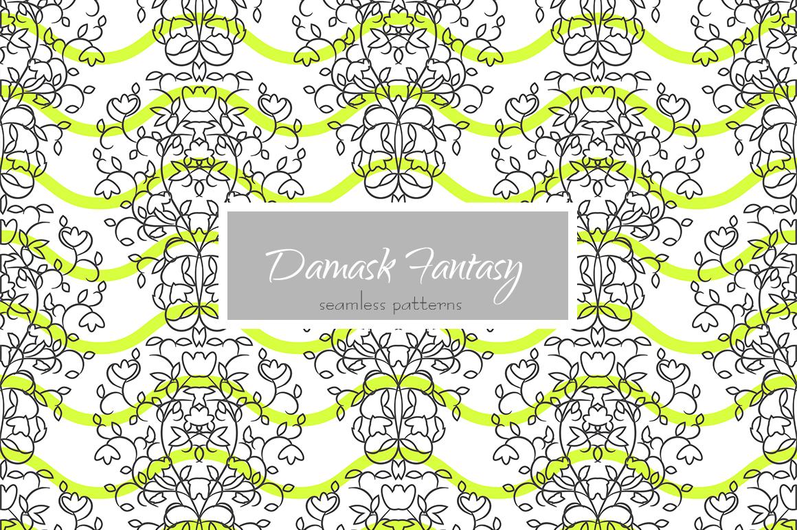Damask Fantasy Patterns example image 3