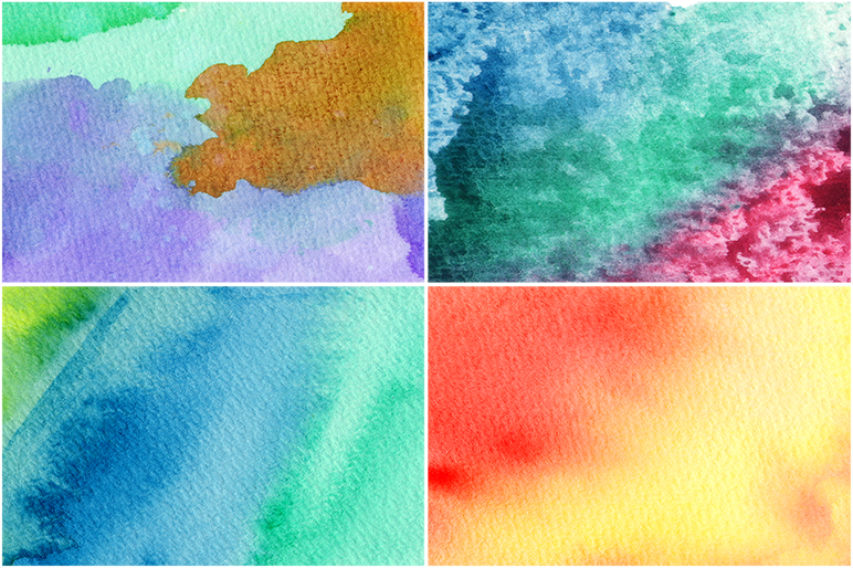 50 Watercolor Backgrounds 05 example image 7