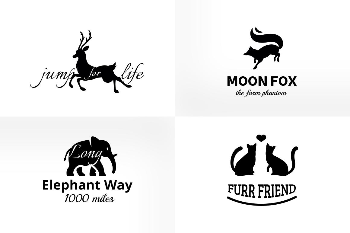 Vintage & Creative Animal Logo Badge example image 2