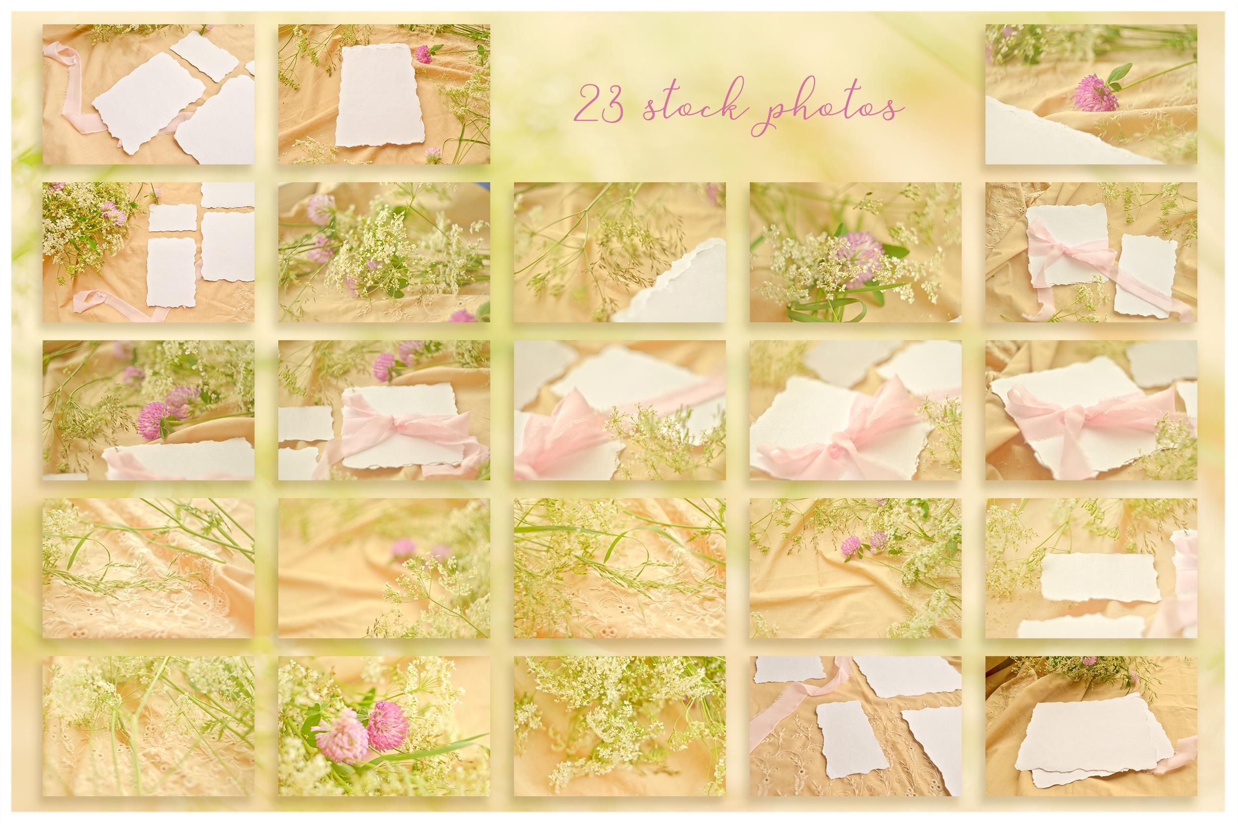 Honey Meadow. Wedding mockups & stock photo bundle example image 12