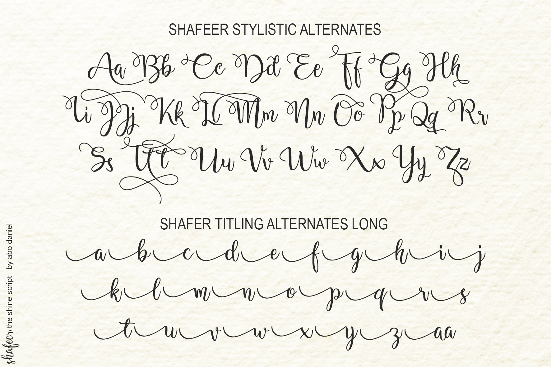 Shafeer -Beauty Font Duo- example image 14