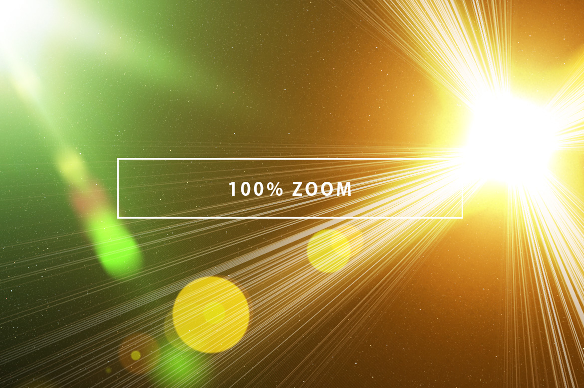 10 Optical Lens Flares Pack 2 example image 3