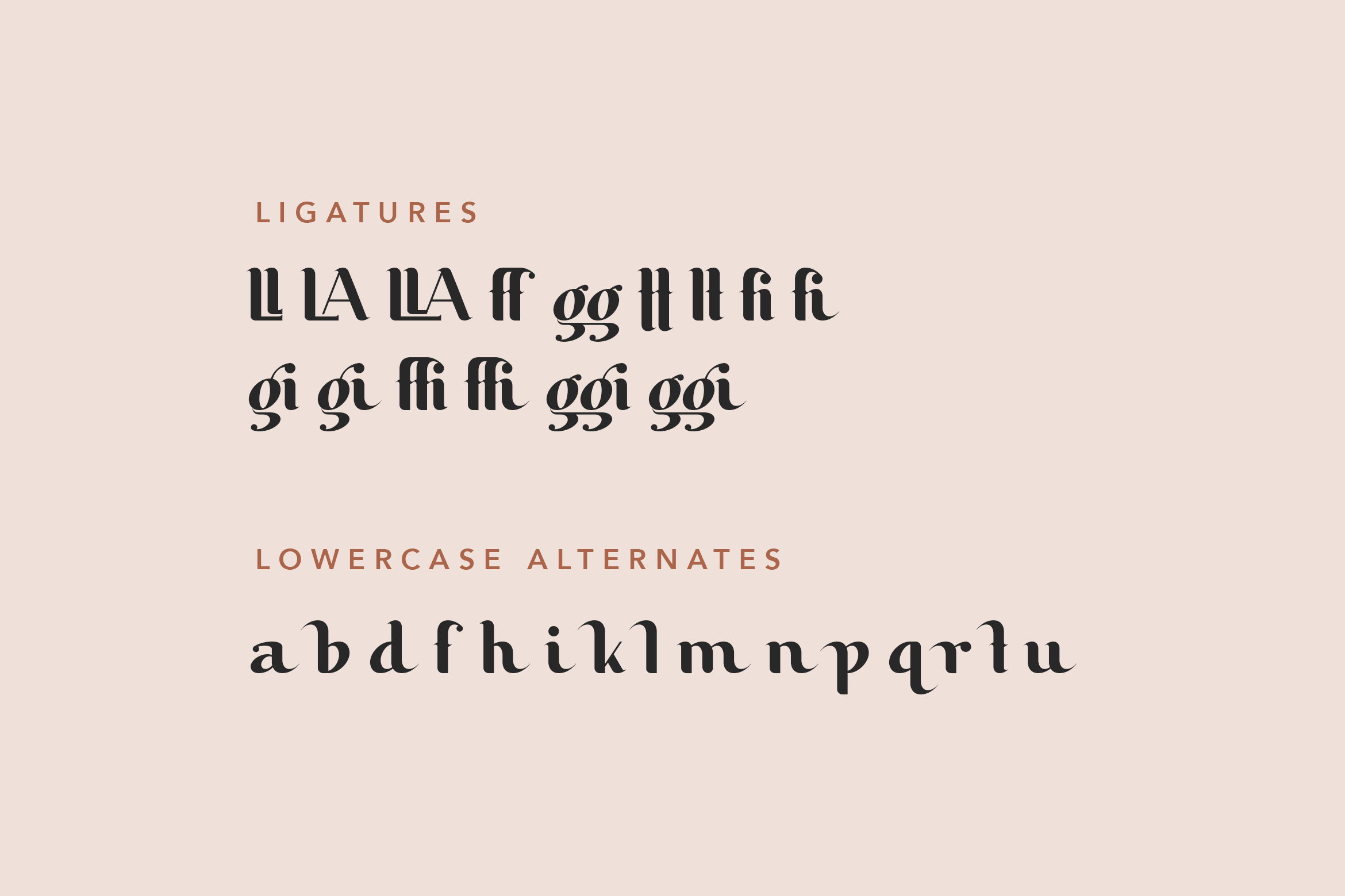 Butterfly Beauty Font example image 10
