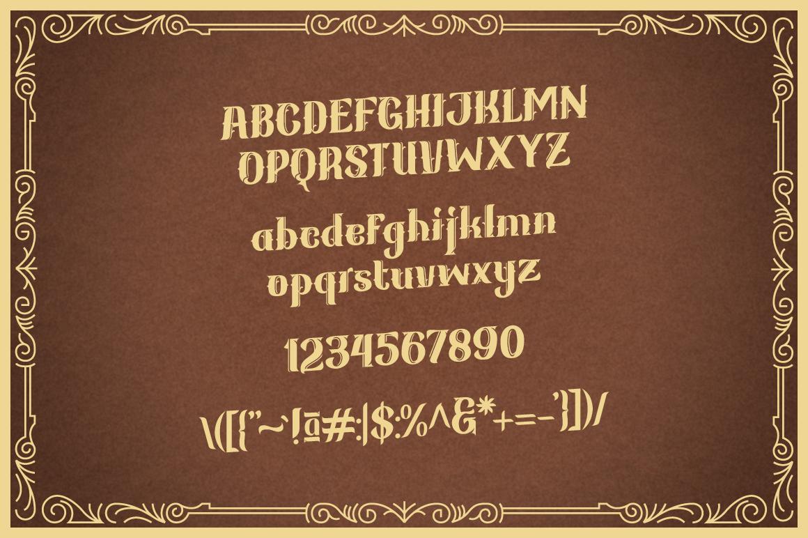 Kanjian Typeface example image 4