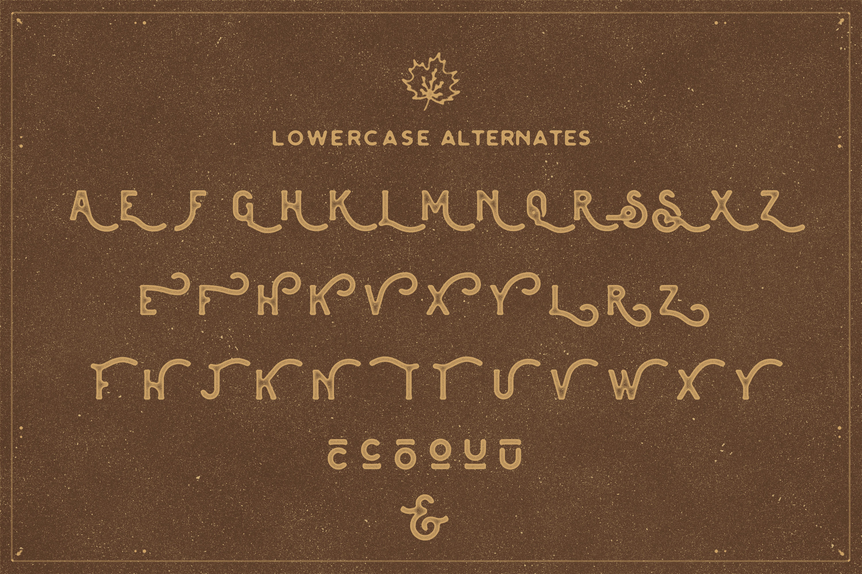 The Brewski - Textured Typeface example image 8