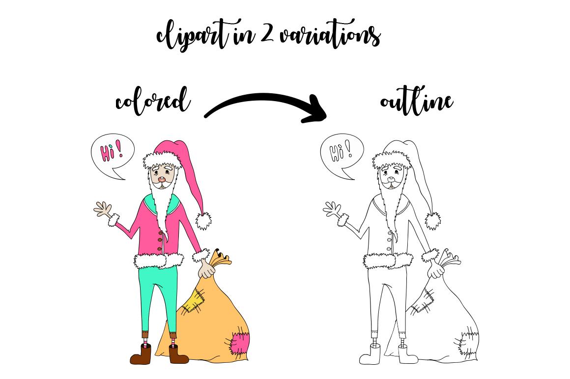 Christmas Hollidays set. example image 4