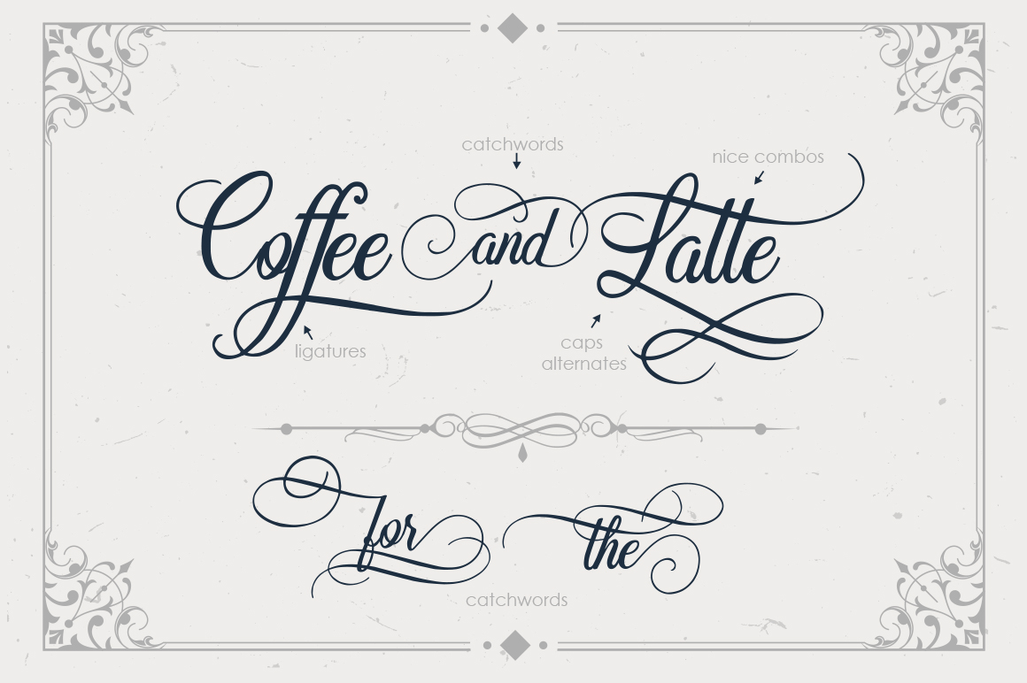 Beradon Script - Elegant Wedding font example image 5