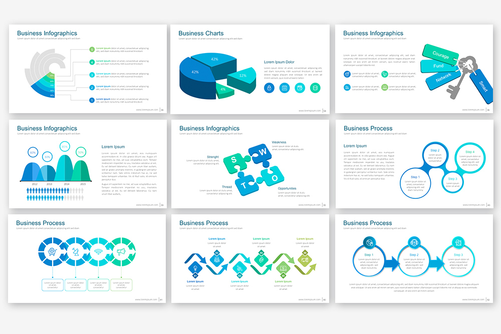 EB Powerpoint Template example image 7