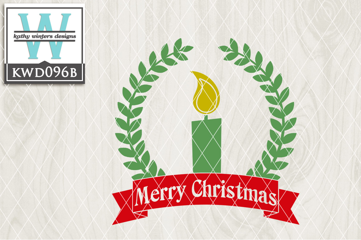 Christmas Cutting File KWD096B example image 1
