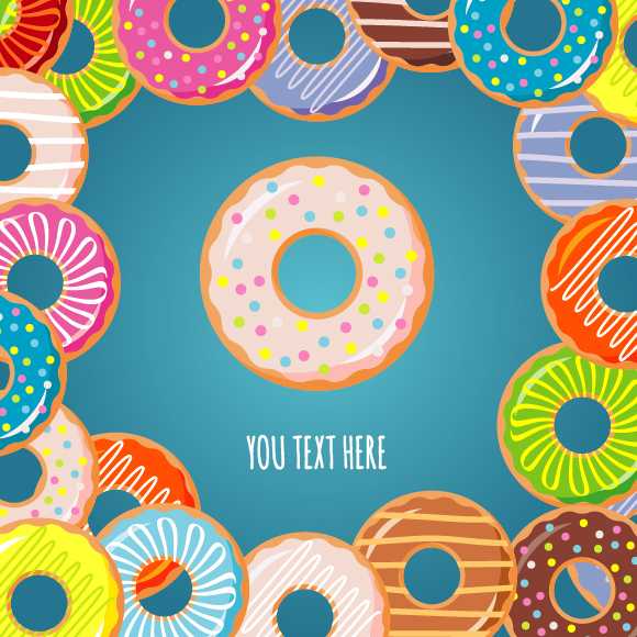 Collection Of Donuts example image 8