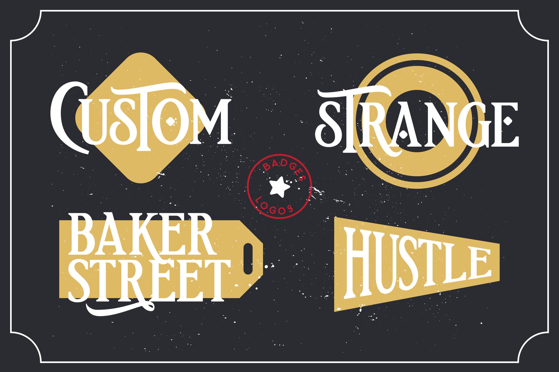 Etherion - Vintage Display font example image 5