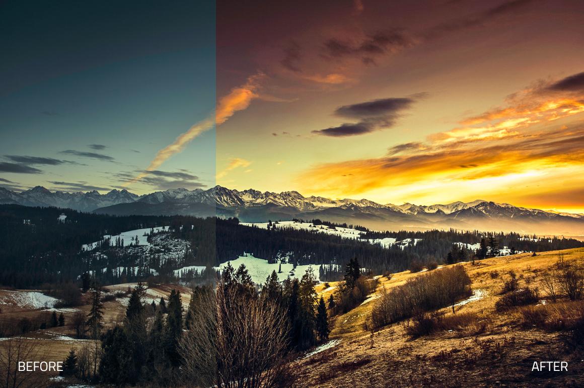 Ultra Landscapes Lightroom Presets example image 2