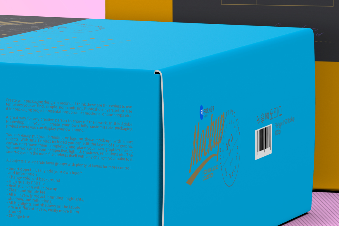 Two Cardboard Box Mockup example image 8