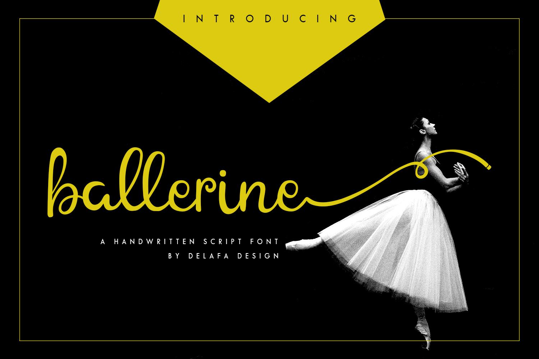 Ballerine Script example image 1