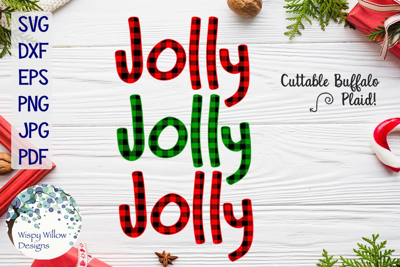 Buffalo Plaid Christmas Bundle SVG Cut Files example image 9