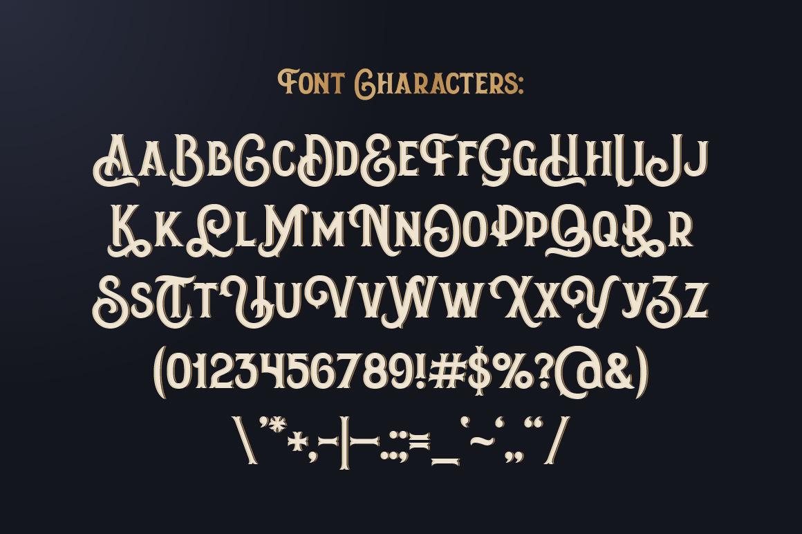 Amber Taste Font, Label, Mockup! example image 6