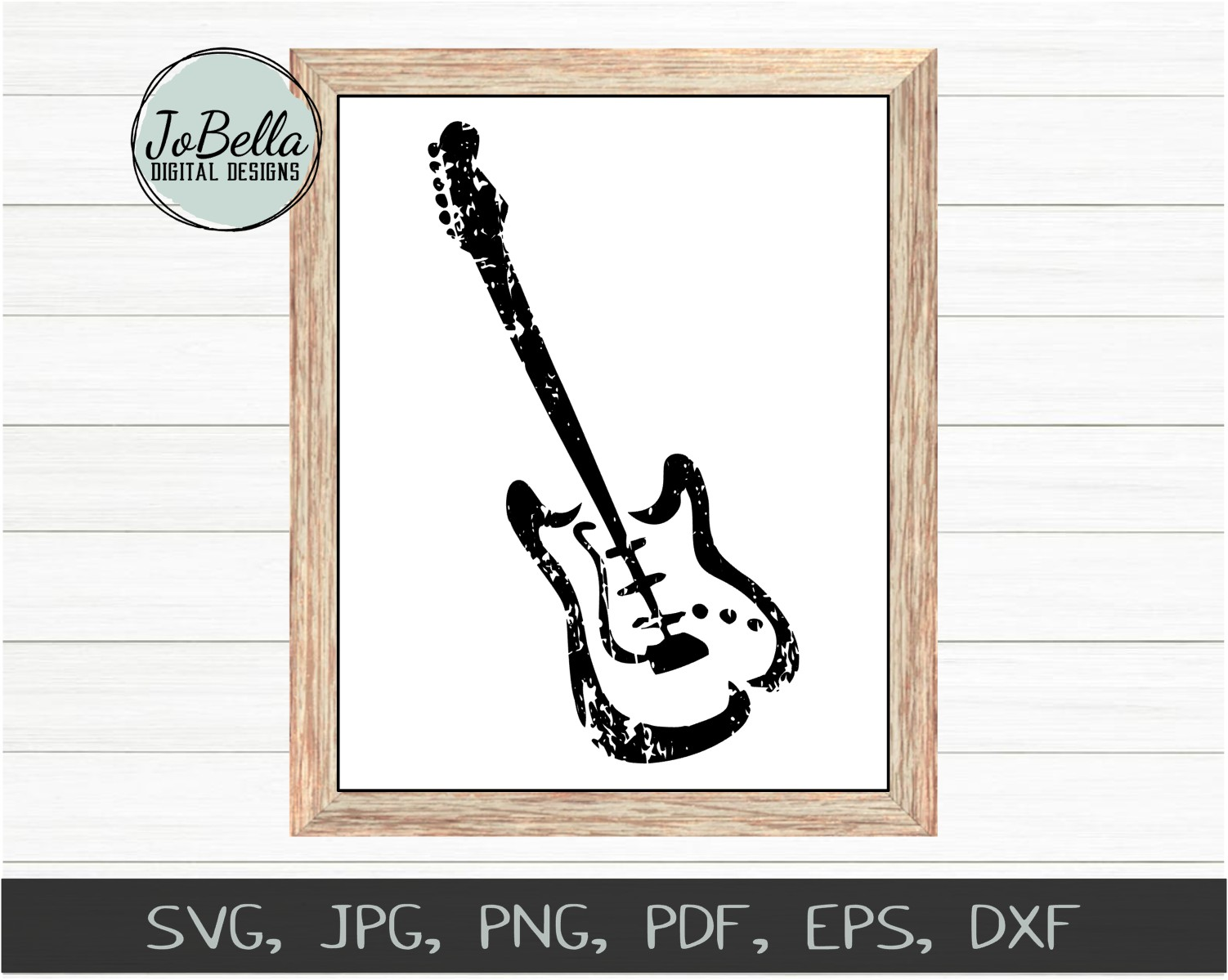 Fender Guitar SVG, Sublimation and Printable Design example image 2