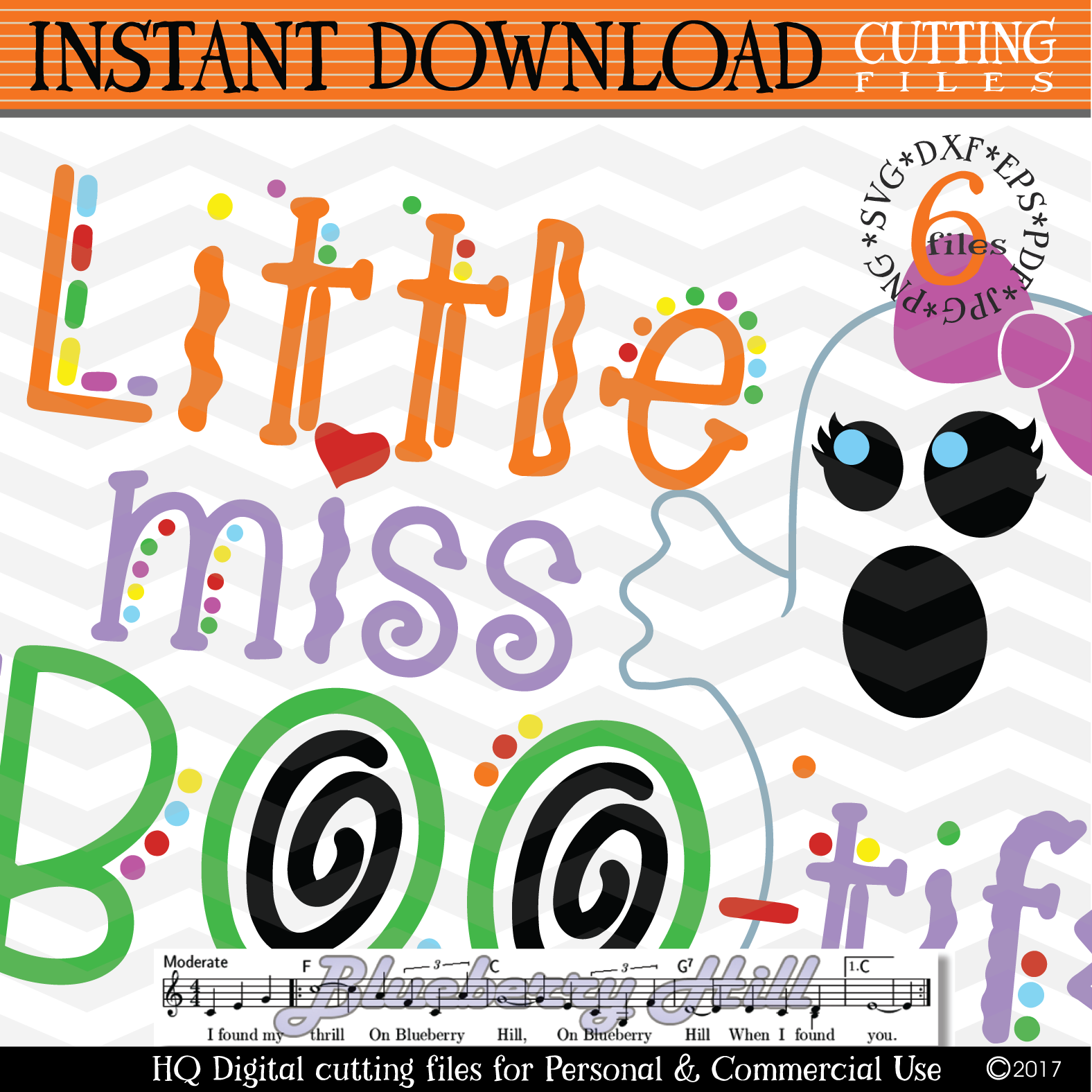 Little Miss Boo svg Girls Halloween svg cutting files example image 3