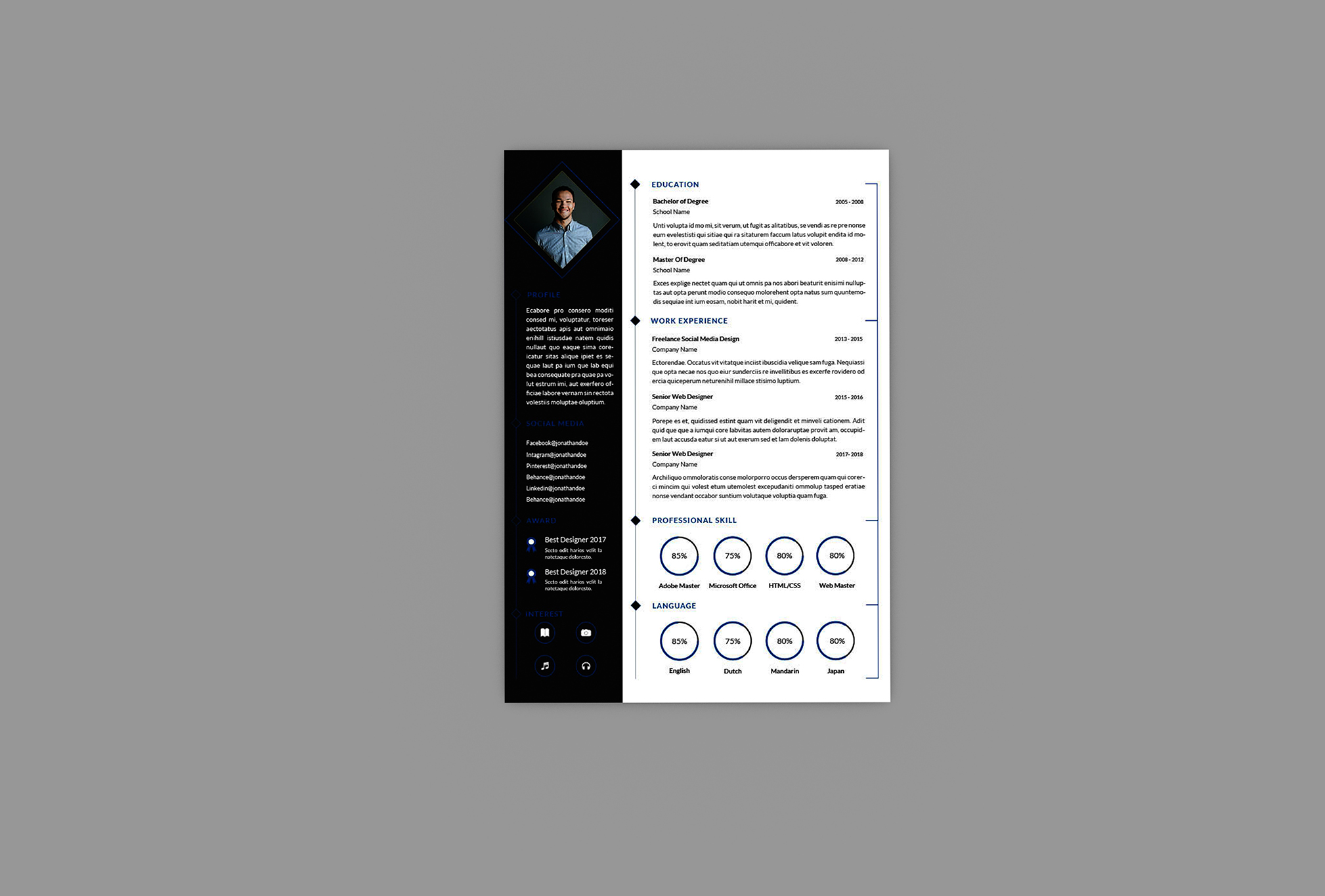 lofty resume designer