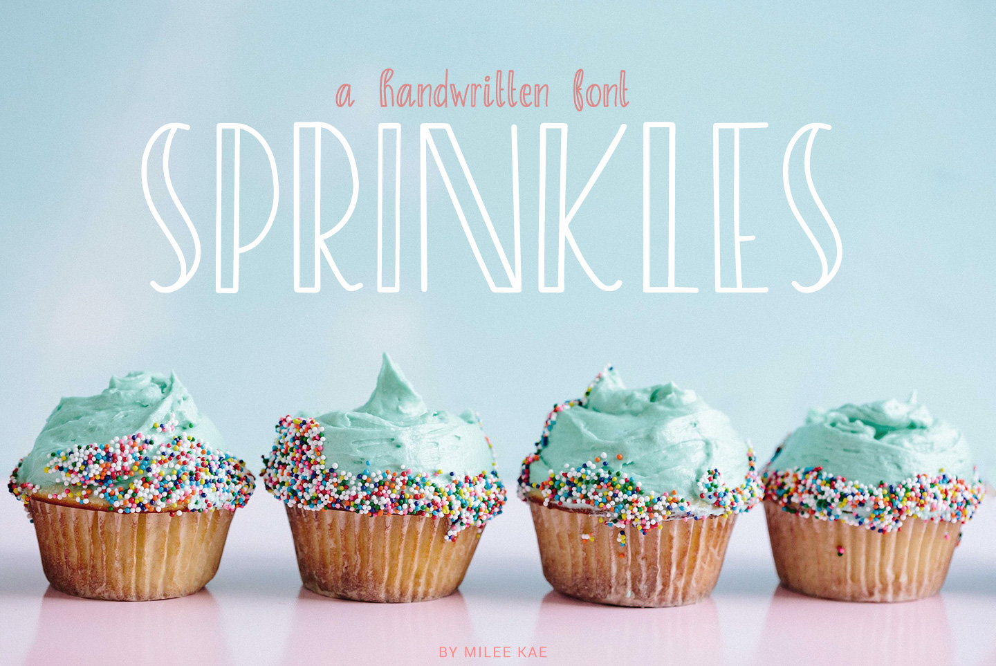 Sprinkles, A sweet and playful font example image 1