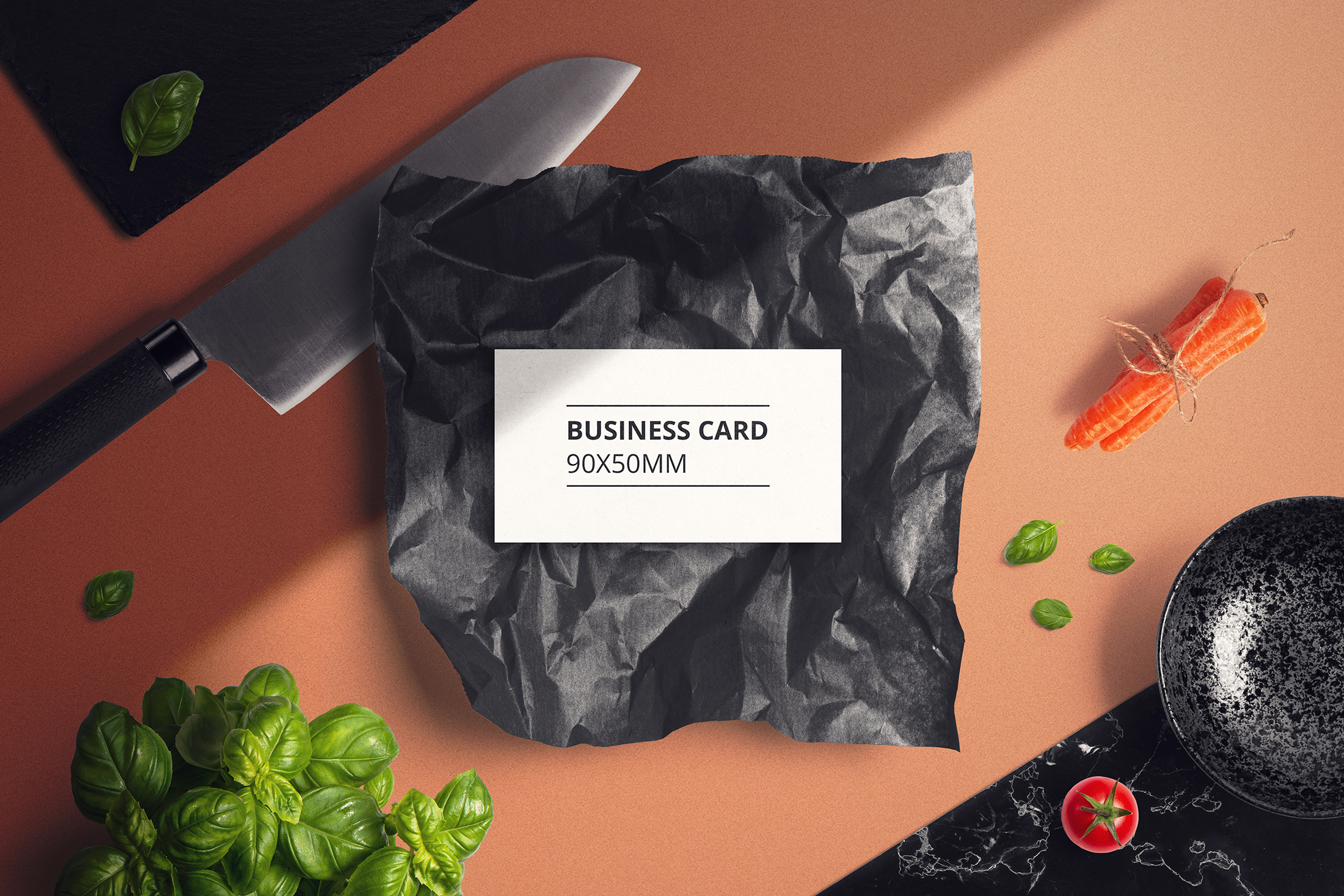 Food & Restaurant Mockup Collection example image 2