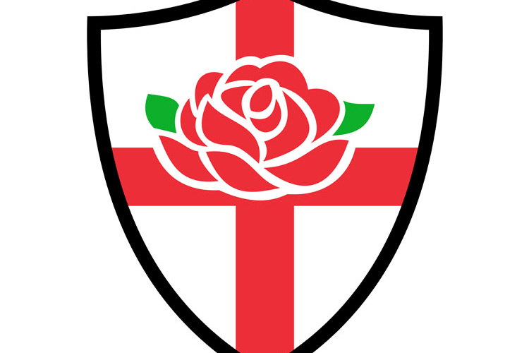 Rugby England English Rose Shield example image 1