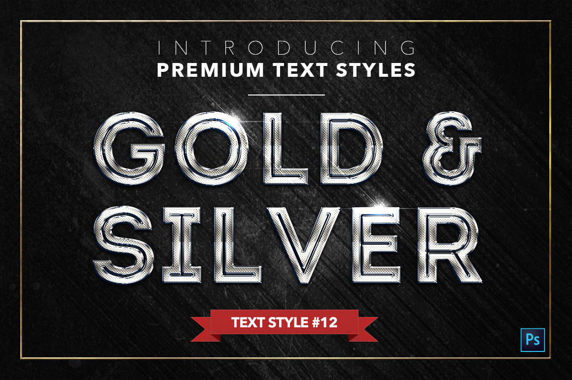 Gold & Silver #2 - 20 Text Styles example image 13