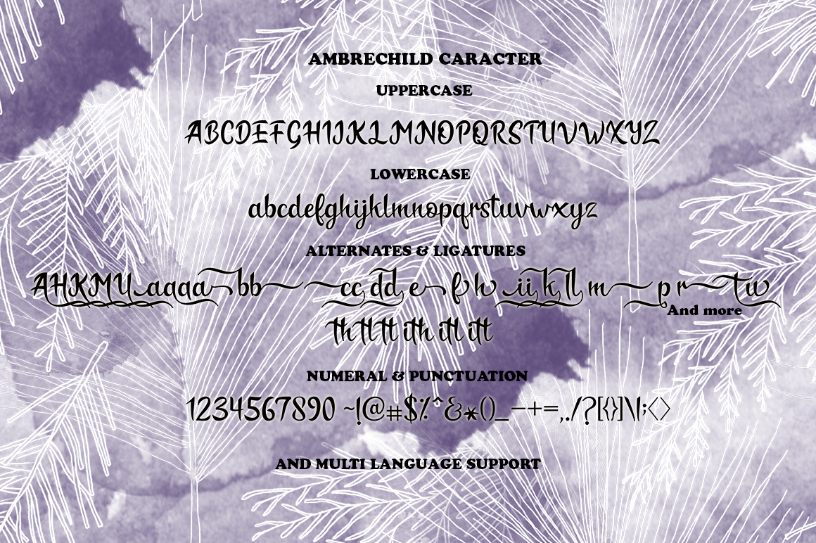 Ambrechild Script example image 8