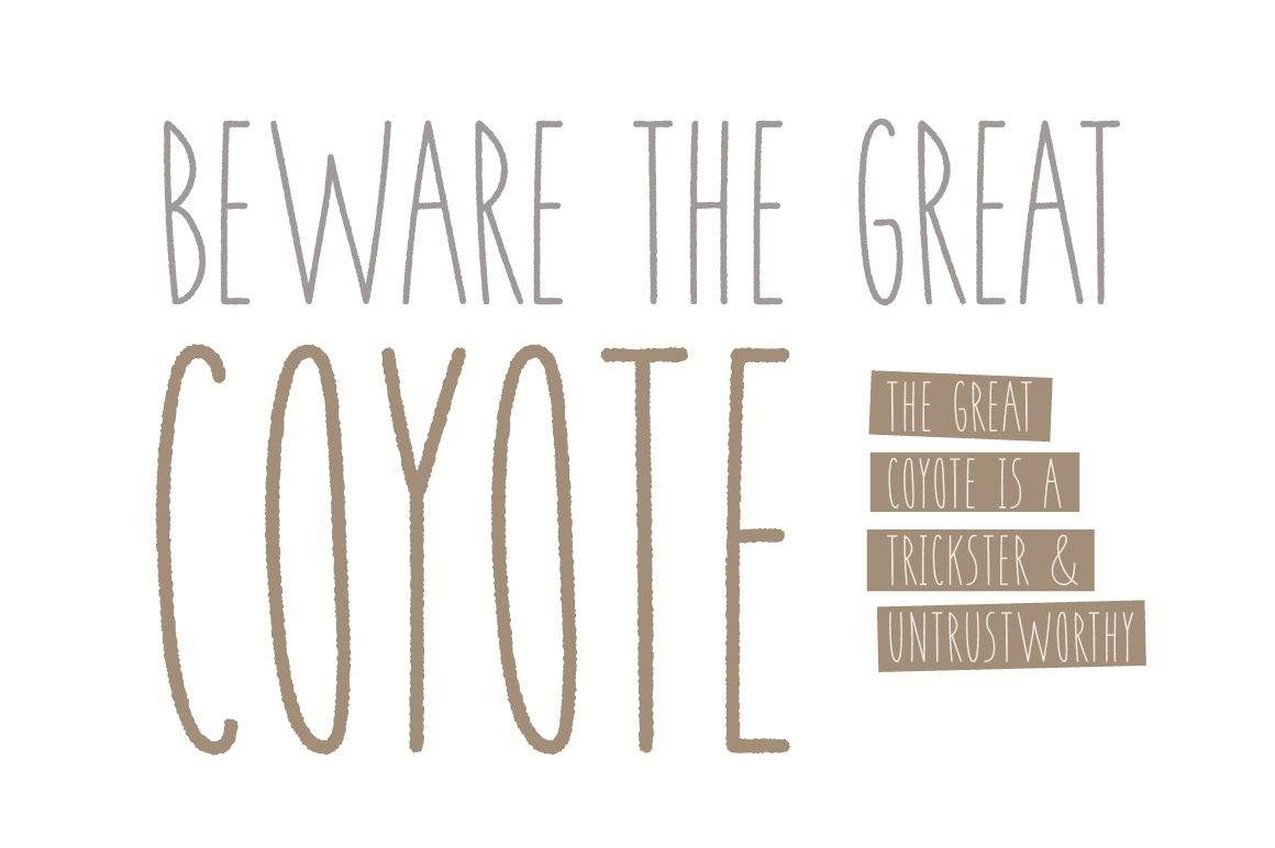 Coyote | A Playful Font example image 7