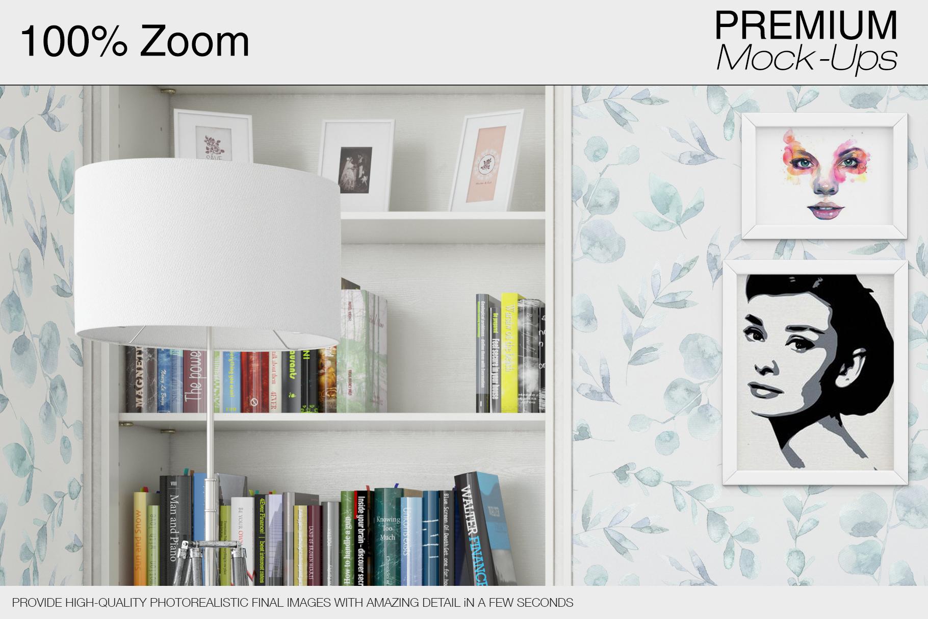 Pillows & Frames Mockup Set example image 5