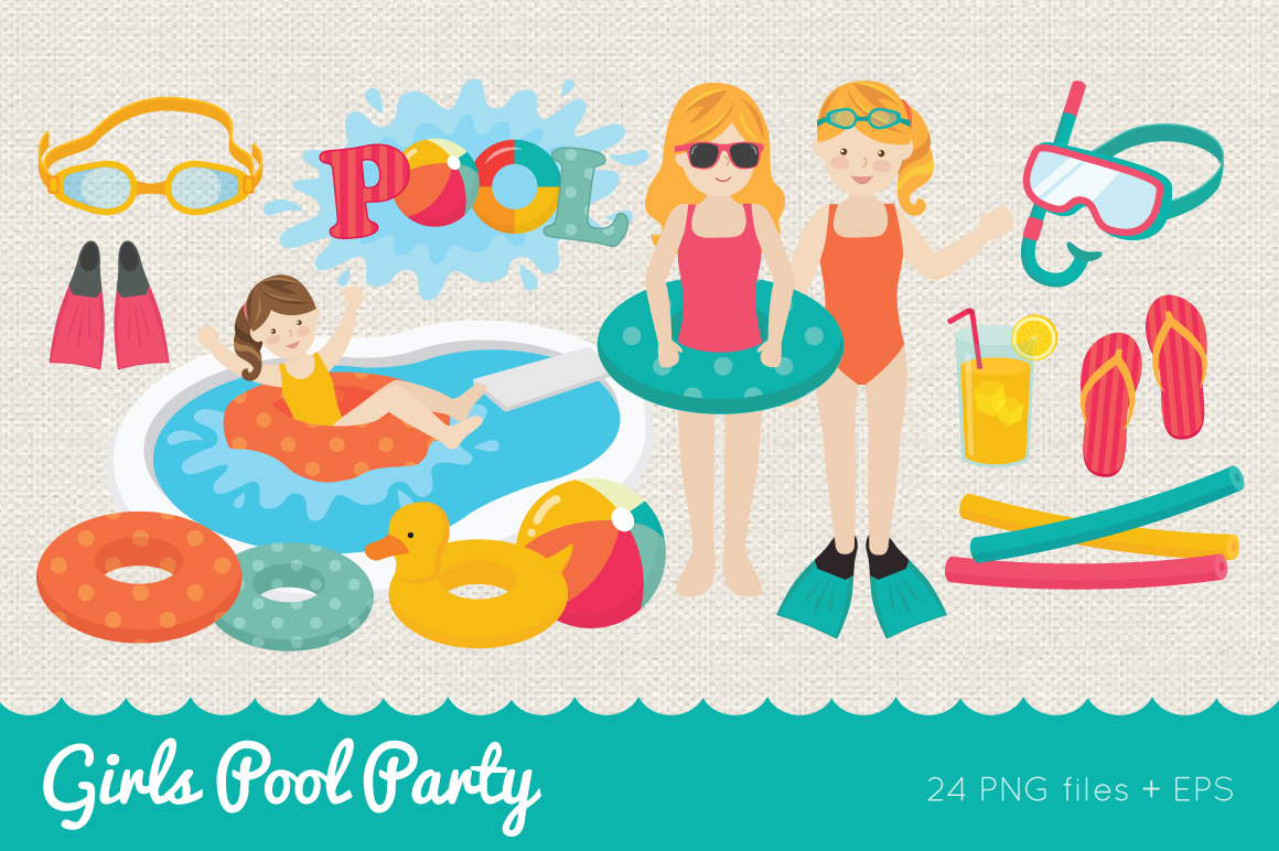 Girls Pool Party example image 1