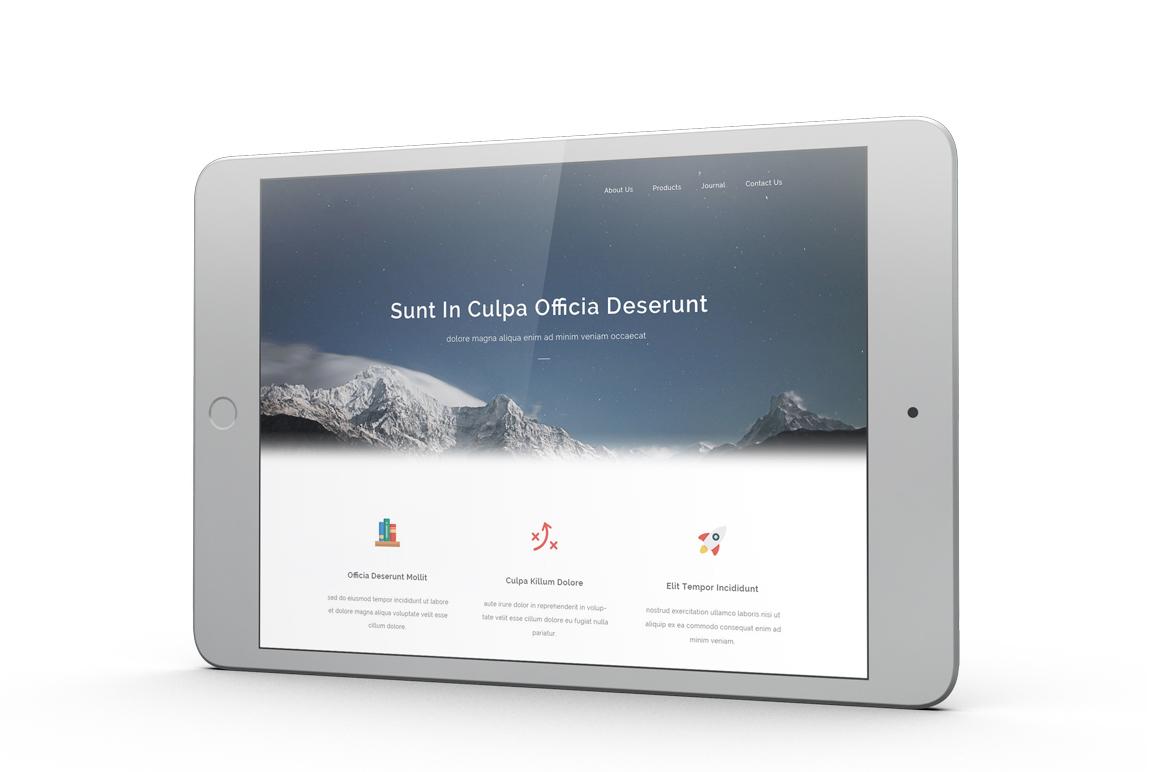 iPad Mini 4 Mockup example image 3