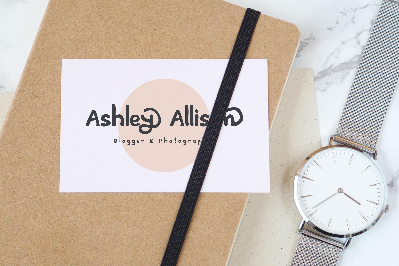 Artless - Handwritten Font example image 4