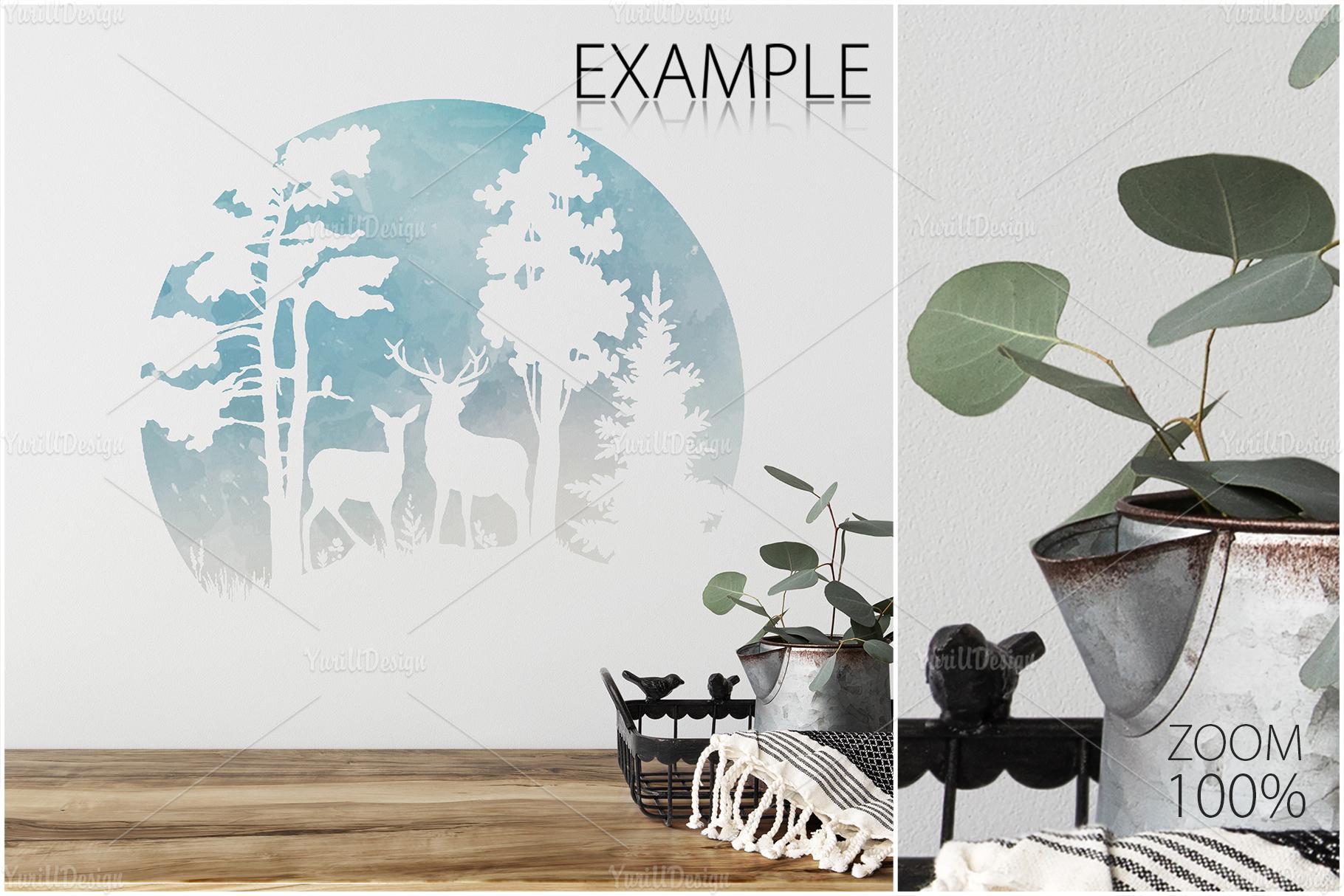 Scandinavian Interior Frames & Walls Mockup Bundle - 3 example image 26