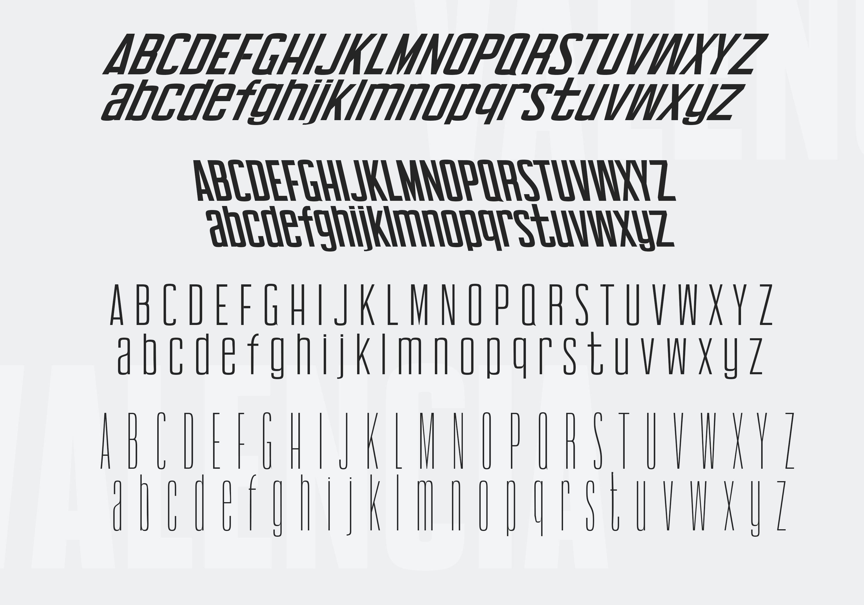 Valencia Font - Sans Serif - 10 Styles example image 13