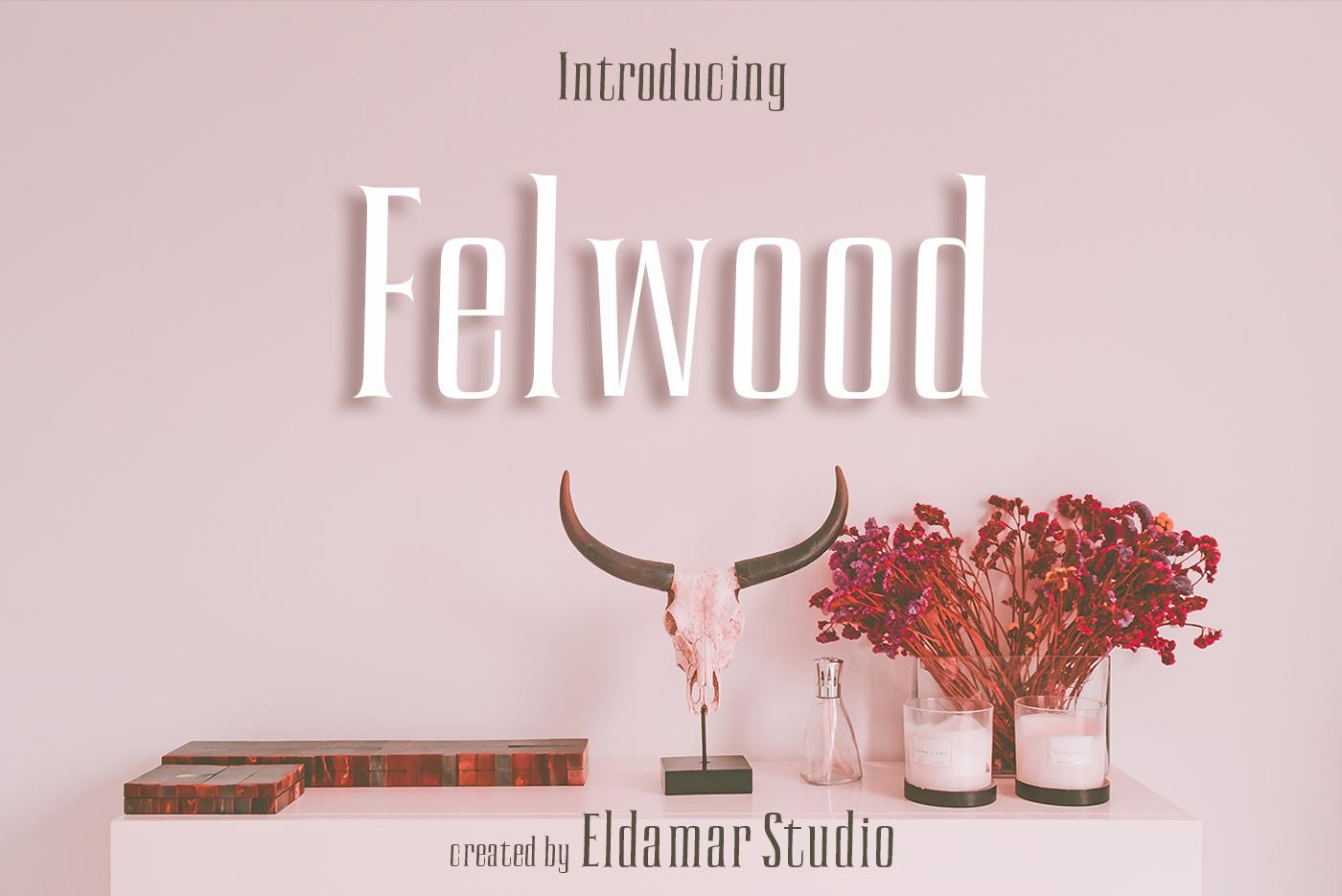 Felwood Font example image 1