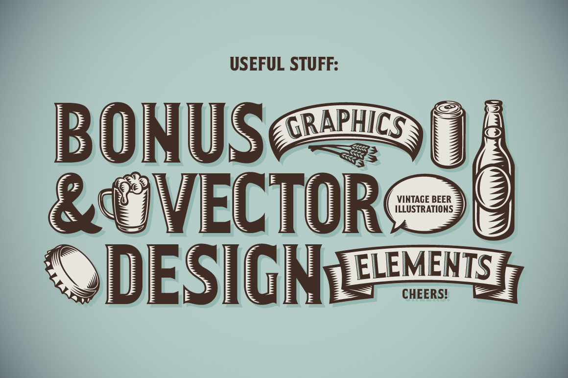Craft Beer Typeface example image 2