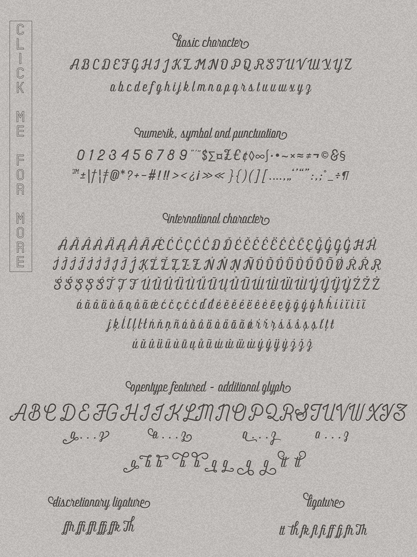 Frankey Vintage Font example image 2
