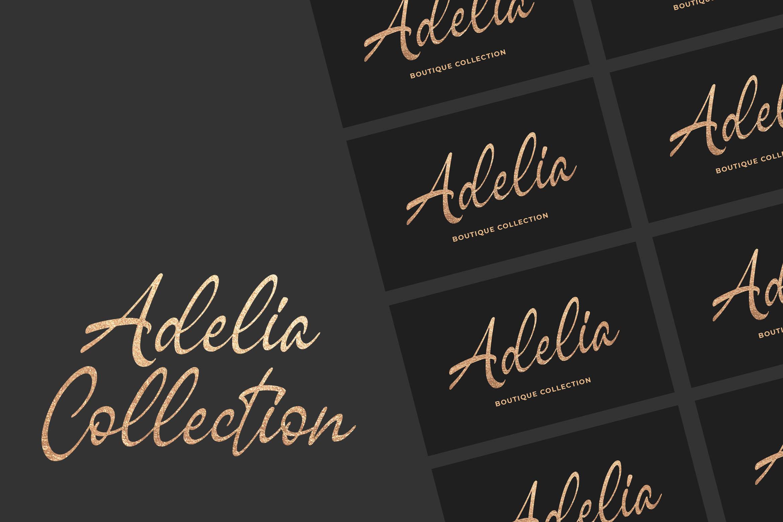 Sagesta - Luxury Script Font example image 3