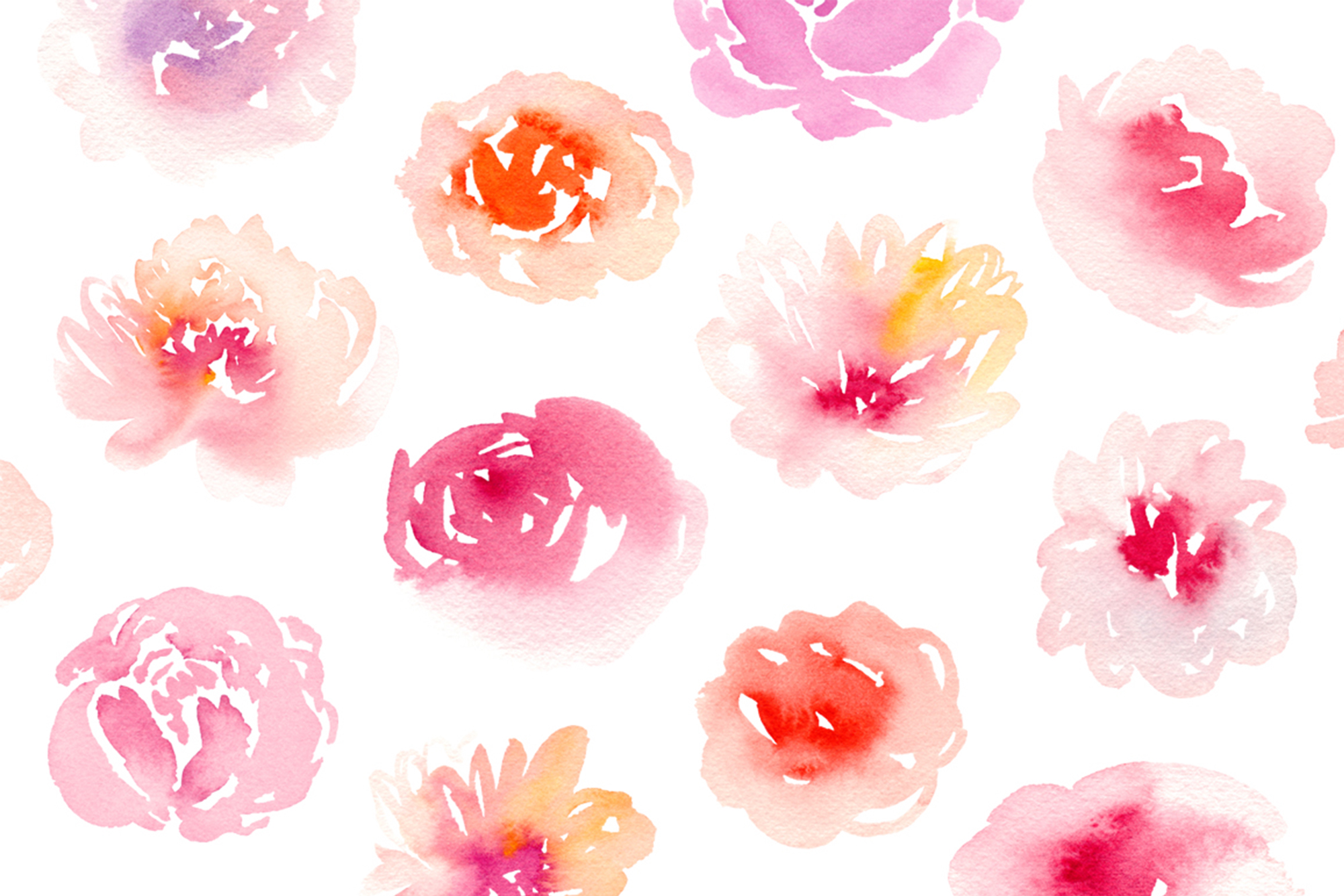 Watercolor Graphics Bundle example image 7